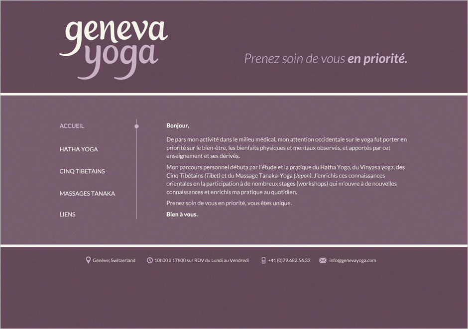 Claire Coullon // Geneva Yoga