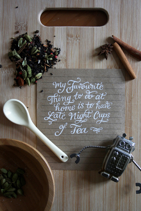 Claire Coullon // Hand Lettering