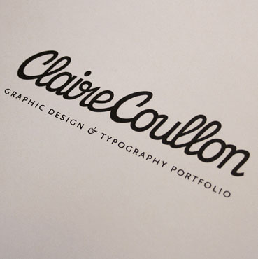 Claire Coullon // Typography - Various